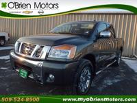 1-Owner 4WD Crew Cab! The Titan scored the top rating