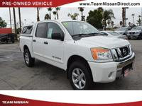 Options:  2011 Nissan Titan Sv|White/|V8 5.6L