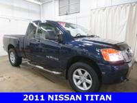 2011 Nissan Titan SV Navy Blue ONE OWNER!, Accident