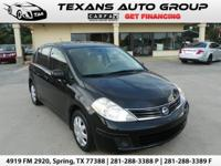 ***2011 NISSAN VERSA HATCHBACK 4 DOOR AUTOMATIC 60K