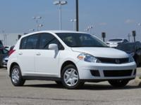 New Price! White 2011 Nissan Versa 1.8 S FWD 4-Speed