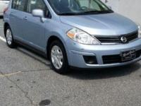 Creampuff! This attractive 2011 Nissan Versa is not