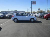 Our 2011 Nissan Versa S with a 1.8L, inline 4 offers