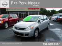 Pat Peck Nissan Mobile presents this 2011 NISSAN VERSA