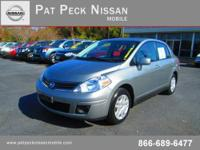 Pat Peck Nissan Mobile presents this 2011 NISSAN VERSA