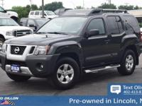 Sturdy and dependable, this 2011 Nissan Xterra S
