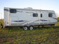 Single Slide North Country Bunkhouse Travel Trailer RV
