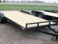 Haul it: 80x18 open car hauler for sale, call  for our