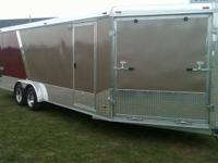 7.5x27 Snowmobile Trailer For Sale a 2011 7.5x27