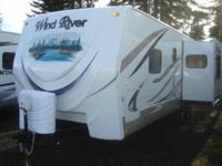 2011 Outdoors RV Wind River 230RKS 28' Travel Trailer