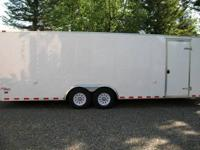 2011 PACE 24 ENCLOSED CAR TRAILER2011 PACE OUTBACK