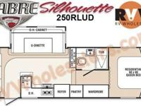 2011 Palomino Sabre Silhouette 250RLUD Fifth Wheel