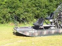 Description FINANCING AVAILABLE! Airboat - Panther,