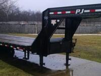 For Sale 2011 PJ 32' Flatdeck Low Profile Trailer VIN
