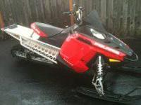 I have for sale a 2011 Polaris rmk 800 this sled is in
