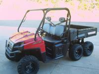 2011 Polaris Ranger 6x6 800 EFI, 3504mi/774hrs. Runs