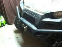 "2011 Polaris ranger browning edition. 14"" wheels with"
