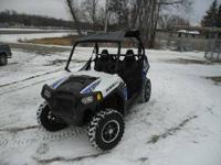 Up for auction is a 2011 Polaris Razor 800. The unit