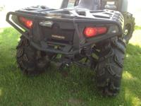 Gently used, runs great. Great 4 wheeler for around the