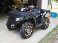 This 2011 Polaris 850 xp limited ed. is like brand new