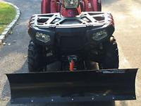 2011 Polaris Sportsman  EFI EPS. It has barely been