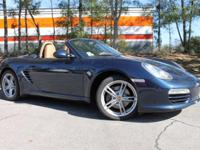 This 2011 Porsche Boxster is very well-equipped with