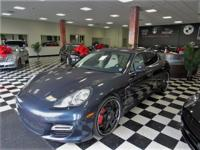 This rare and opulent 2011 Porsche Panamera Turbo