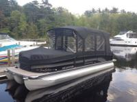 2011 Premier 225RF Ltd PTX36 pontoon- entirely packed,