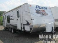 Just received this 2011 Puma 25RS travel trailer in