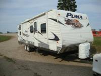 2011 PUMA BY FOREST RIVER TRAVEL TRAILER   MODEL
