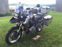 What does this GS have: BMW hard bags Panniers made by