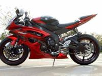 Model: Yamaha YZF-R6 Year: 2011 Category: Sport Rating:
