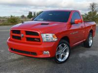 This sporty, low mileage Dodge Ram 1500 R/T Regular Cab