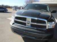 This 2011 Ram 1500 ST Truck features a 3.7L V6 MPI SOHC