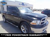 CARFAX One-Owner. Clean CARFAX. Black 2011 Ram 1500 SLT