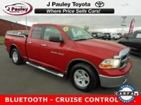 From home to the job site, this Red 2011 Ram 1500 SLT