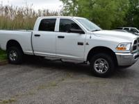 Recent Arrival! 2011 Ram 2500 ST CARFAX One-Owner.