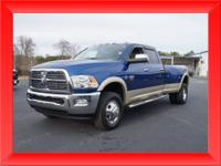 Loaded Laramie, Low Miles. Call today to schedule your