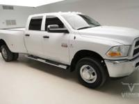 This 2011 Ram 3500 DRW ST Crew Cab 4x4 with only 14230