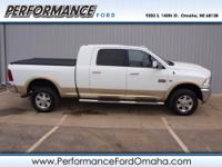 Laramie trim. CARFAX 1-Owner. Heated Leather Seats