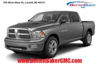 Options:  2011 Ram 1500 4Wd Crew Cab 140.5 Big