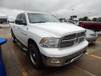 1500 Big Horn, 5-Speed Automatic, Bright White, Black