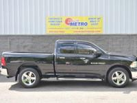 Black 2011 Ram 1500 Big Horn Quad Cab!!!!! 4WD 5-Speed