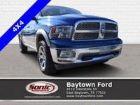 Climb inside this 2011 Ram 1500 Laramie. It comes
