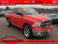 CD Player, Ram 1500 SLT, 4D Crew Cab, HEMI 5.7L V8