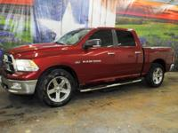 *Purchase this deep cherry red 2011 Ram 1500 Lone Star
