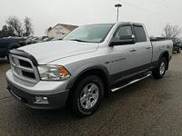 Options:  2011 Ram 1500 Outdoorsman|Silver|Recent