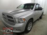 Options:  2011 Ram 1500 4Wd Quad Cab 140.5 Slt|4-Wheel
