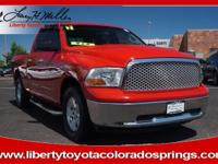 Flame Red Clear Coat exterior, SLT trim. LOW MILES -