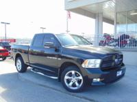 Options:  2011 Ram 1500 Sport|Brilliant Black Crystal